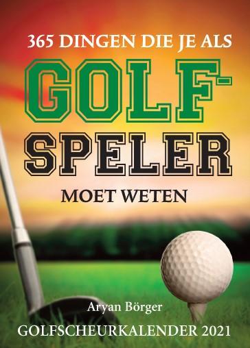 Golfscheurkalender 2021