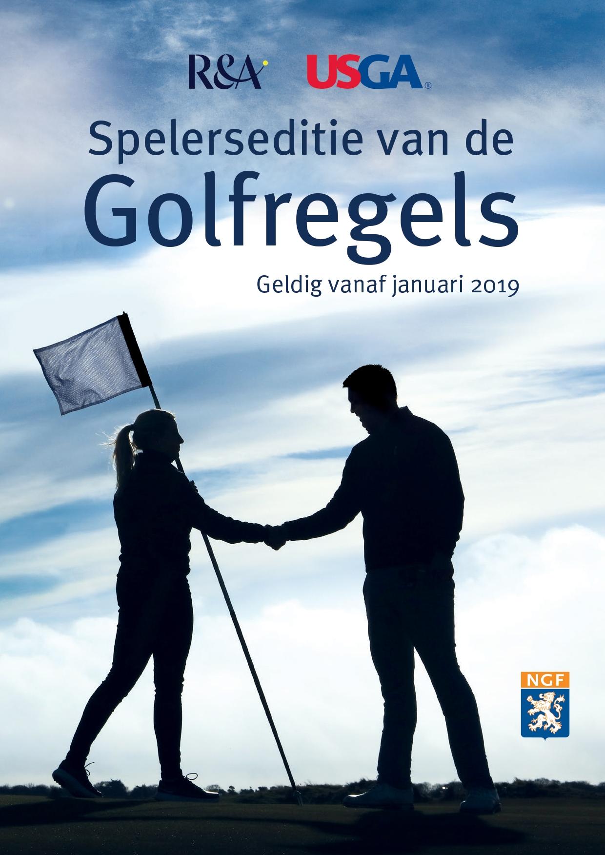 Doos 100 ex. Golfregels - Spelerseditie 2019 (NL)
